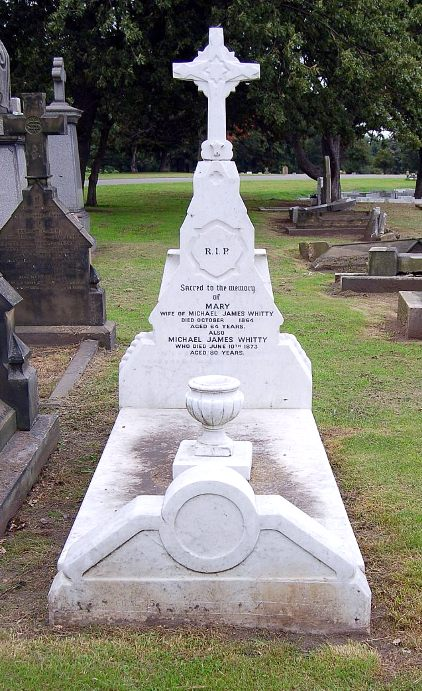 dame may whitty find a grave